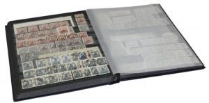 Polska, album znaczków, m.in.: dopłaty, opłaty, plebiscytowe i odmiany Fi 172-181, 205-215, 261-262, 273-276