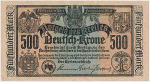 Deutsch-Krone (Wałcz), 500 mk 1922