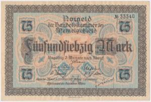 Memel (Kłajpeda), 75 mk 1922