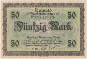 Memel (Kłajpeda), 50 mk 1922