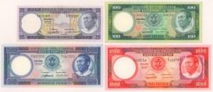 Gwinea Równikowa, 25-1.000 ekuele 1975 (4)