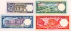 Gwinea Równikowa, 25-1.000 ekuele 1975 (4szt)
