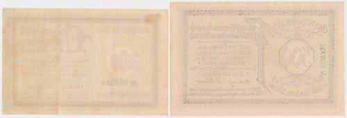 Hindenburg (Zabrze), 100 i 500 mld mk 1923 (2szt)