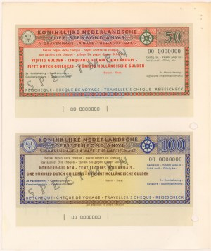 Holandia, 50 i 100 gulden SPECIMEN (2szt)