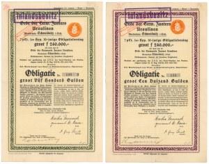 Schweidnitz (Świdnica), Orde der Eerw. Zuster Ursulinen, 1928 r. (2szt)