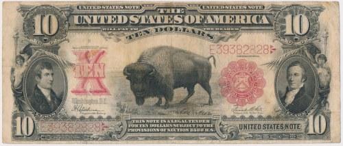 USA, 10 dollars 1901, Bizon