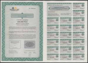 List zastawny, Rheinhyp-BRE Bank Hipoteczny, SPECIMEN 100.000 zł 2000