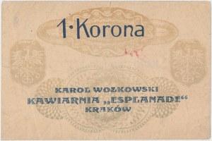 Kraków, K. WOŁKOWSKI Kawiarnia