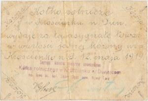 Krościenko n. Dunajcem, Kółko Rolnicze, 1 korona 1919