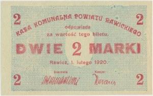 Rawicz, 2 marki 1920