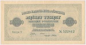 500.000 mkp 1923 - 6 cyfr - Y