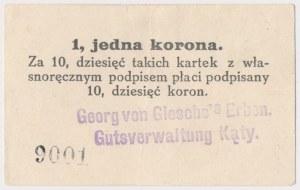 Kąty, Georg von Giesche's Erban, 1 korona (1914)
