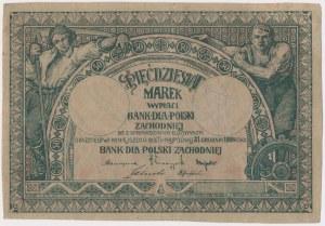 Bank dla Polski Zachodniej 50 marek 1919