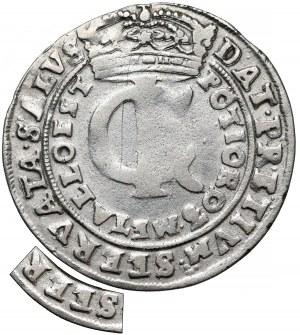 Jan II Kazimierz, Tymf Bydgoszcz 1665 - błąd SEERVATA