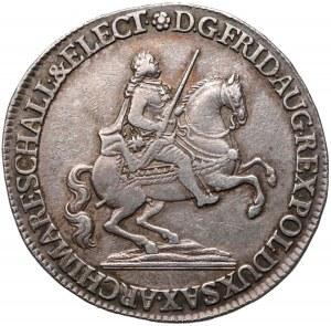 August III Sas, Półtalar wikariacki 1742