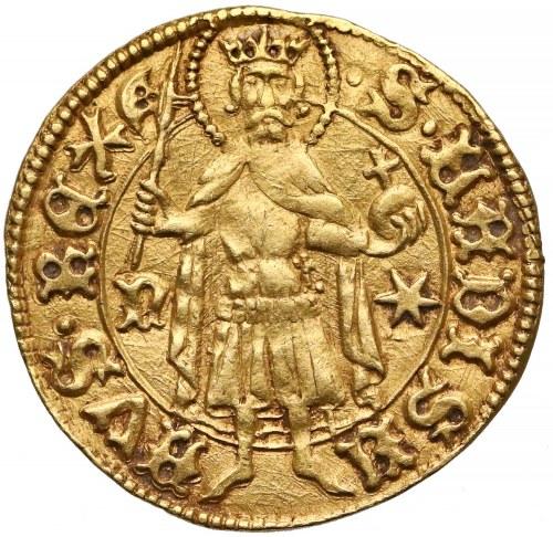 Władysław Warneńczyk, Goldgulden bez daty (1440-43) - rzadki