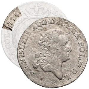 Poniatowski, Złotówka 1778 EB - bardzo rzadka