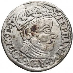 Stefan Batory, Trojak Olkusz 1582 - mniejsza głowa