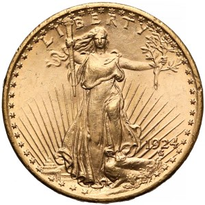 USA, 20 dolarów 1924 - Double Eagle