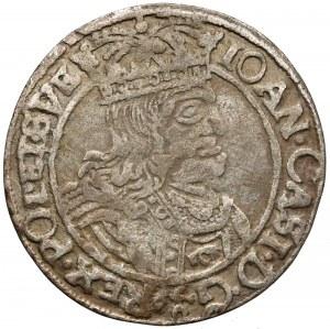 Jan II Kazimierz, Szóstak Lwów 1661 GBA - A z V w ARGEN