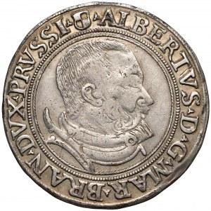 Prusy, Albrecht Hohenzollern, Szóstak Królewiec 1534 - RZADKOŚĆ