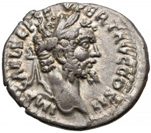 Cesarstwo, Septymiusz Sewer, Denar Emesa (194-195) - Moneta