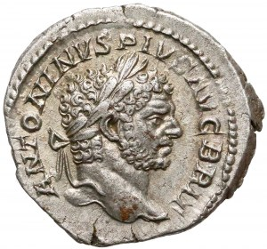 Cesarstwo, Karakalla, Denar Rzym (213) - Serapis