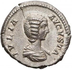 Cesarstwo, Julia Domna (żona Septymiusza Sewera) Denar Rzym (207) - Fortuna