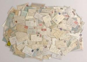 Polska, karty korespondencyjne, koperty II RP i Polska po 1944 r - duży zestaw