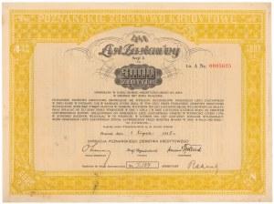 Poznań, PZK, List zastawny 1935 - 5.000 złotych