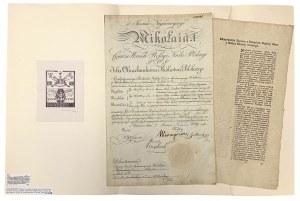 Projekt ustawy o wprowadzeniu pieniędzy papierowych w Polsce (1774 r.)