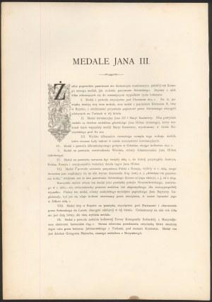 Medale Jana III