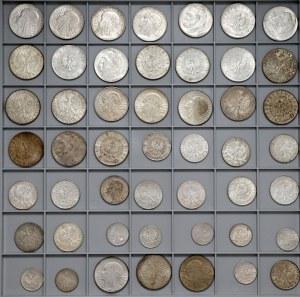 IIRP zestaw monet srebrnych w ŁADNYCH stanach (49)