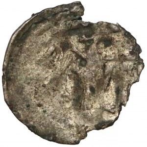 Ludwik Węgierski (1370-1382) Denar koronny