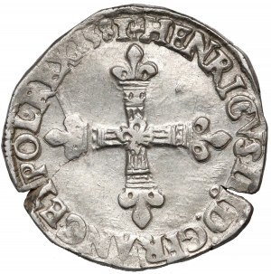 Henryk Walezy, 1/4 ecu Rennes 1581