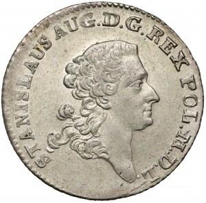 Poniatowski, Złotówka 1766 FS - piękna