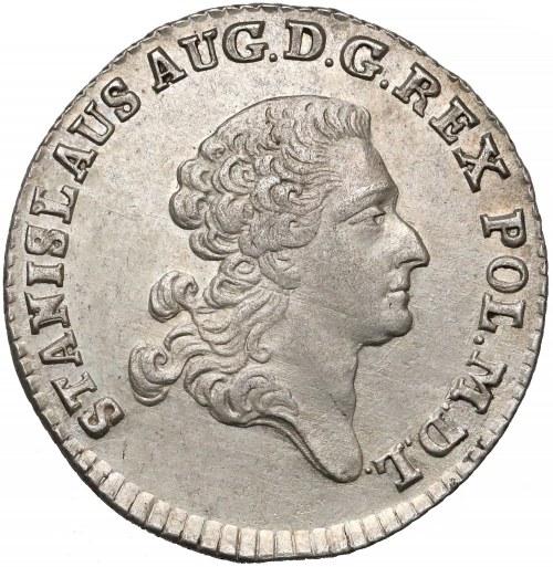 Poniatowski, Złotówka 1767 FS - piękna