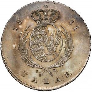 Księstwo Warszawskie, Talar 1811 IB - b. ładny