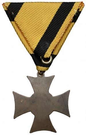 Krzyż Służby Wojskowej, II wydanie (1867-1890) za 12 lat