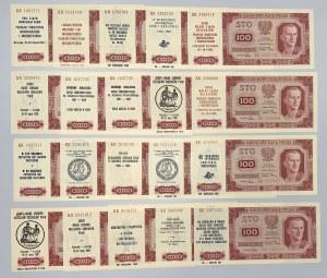 100 złotych 1948 - KR - z nadrukami okolicznościowymi (20)