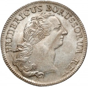 Śląsk, Fryderyk II Wielki, Wrocław, 1/3 talara 1767-B