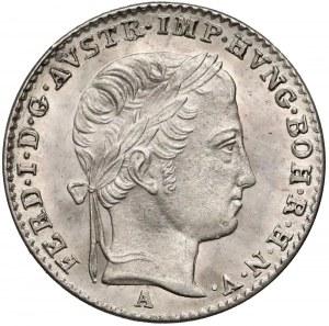 Austria, Ferdynand I, 3 krajcary 1839-A