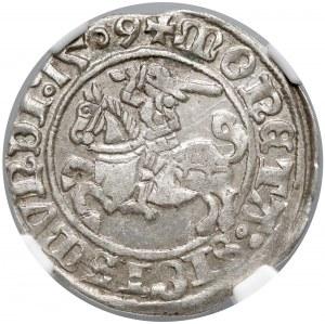 Zygmunt I Stary, Półgrosz Wilno 1509 - NGC MS61
