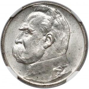 Piłsudski 2 złote 1934 - NGC MS61