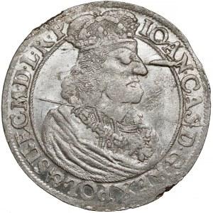 Jan II Kazimierz, Ort Gdańsk 1660 DL - GEDANENS - piękny