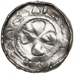 Denar krzyżowy (XIw.)