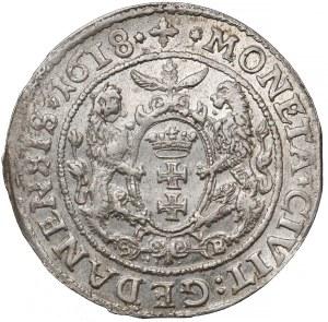 Zygmunt III Waza, Ort Gdańsk 1618 SB