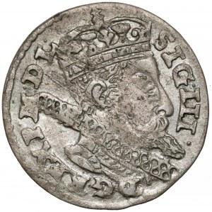 Zygmunt III Waza, Grosz Kraków 1606 - niski portret - rzadki