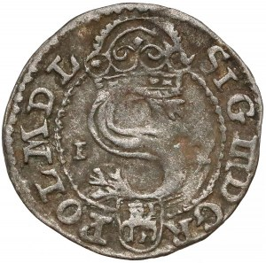 Zygmunt III Waza, Szeląg Olkusz 1591 - bez znaku