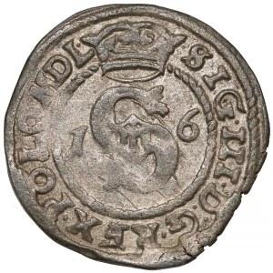 Zygmunt III Waza, Szeląg Poznań 1600 - litera P